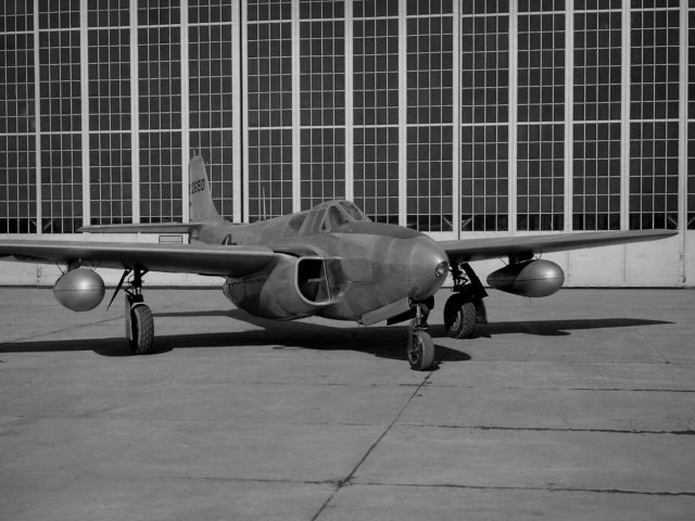 Bell P-59B Airacomet at the Lewis Flight Propulsion Laboratory