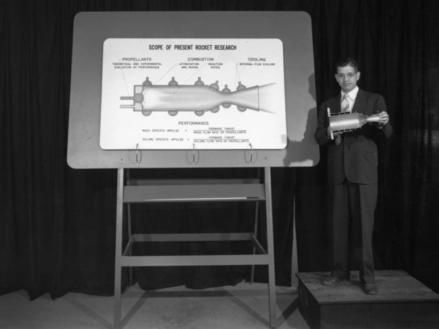 Rocket Research Presentation at the NACA's 1947 Inspection