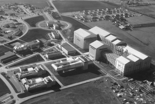 Aerial View of Ames Wind Tunnels