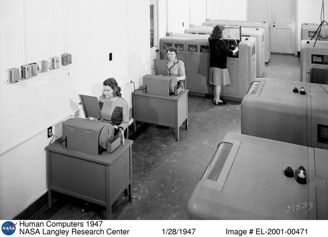 Human Computers of 1947