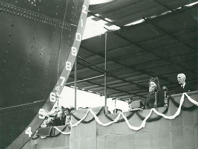 Launch of the 'British Princess'