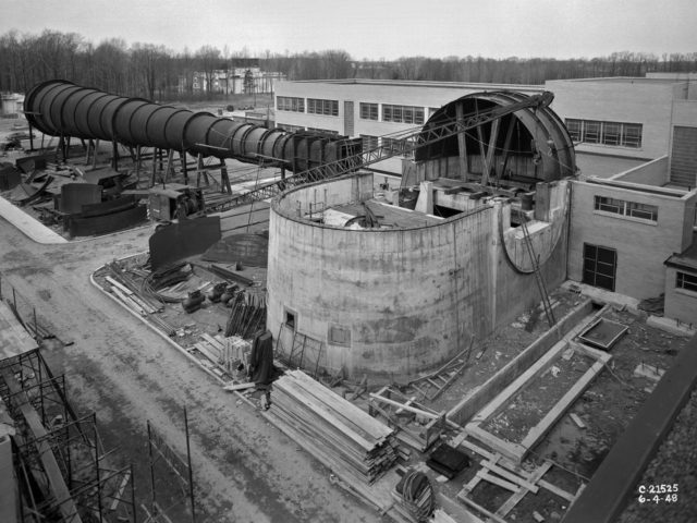 Construction of the 8- by 6-Foot Supersonic Wind Tunnel