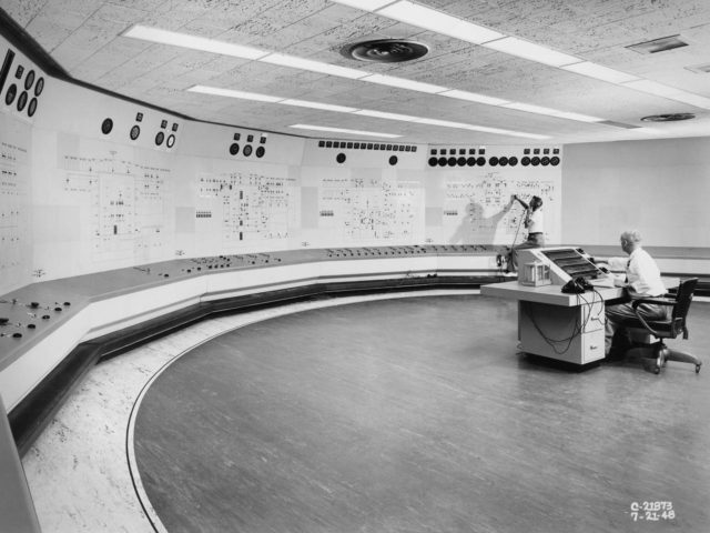 Engine Research Building's Central Control Room