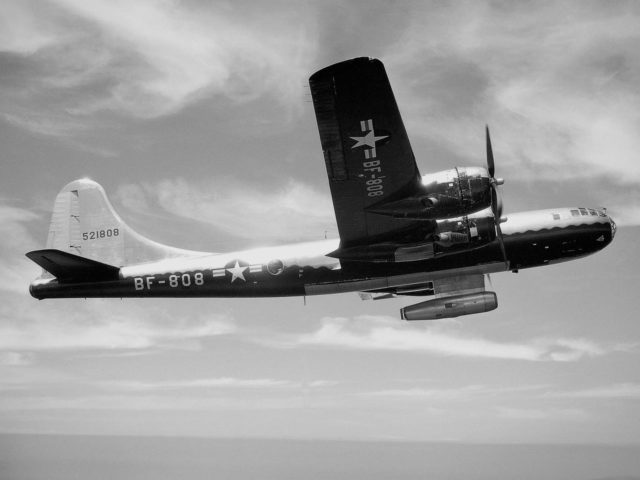 B-29 Superfortress with Ramjet Missile
