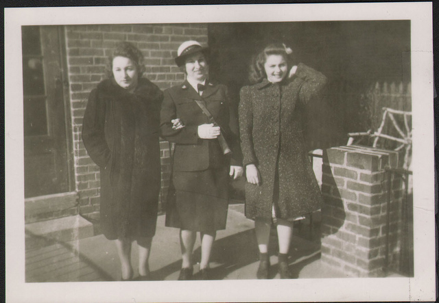 Anne Ruby (mother), Ann Hersh (cousin) (WAVE), Norma Ruby (sister)