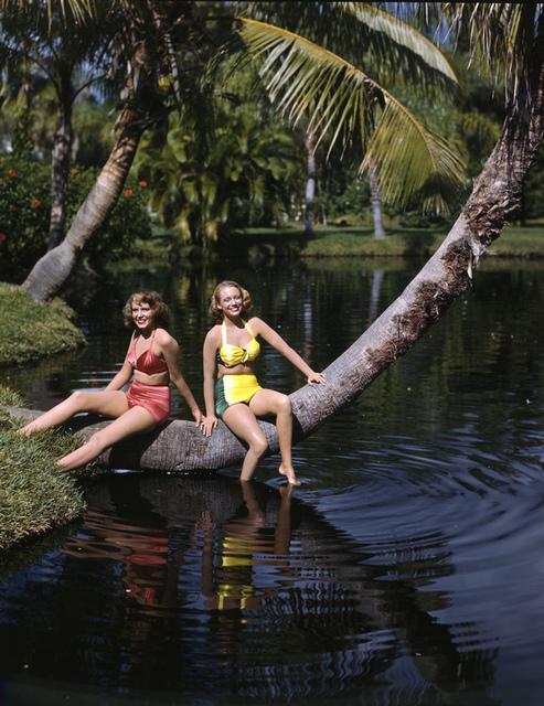 Nora Carrol and Lois Duncan Steinmetz: Sarasota, Florida