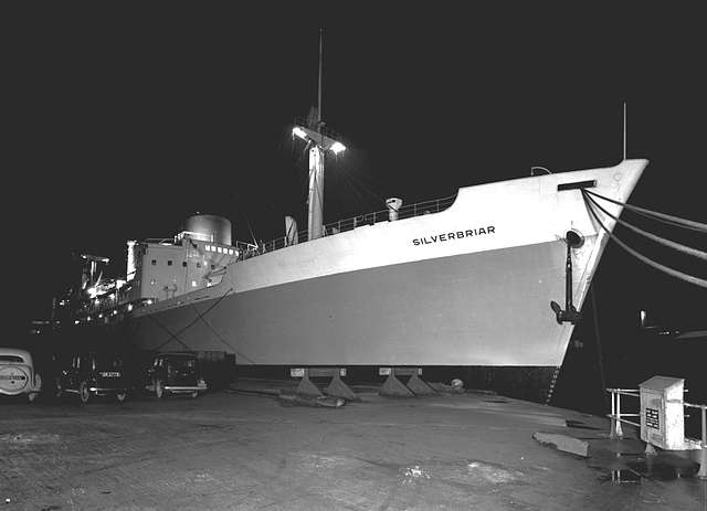 'Silverbriar' at night