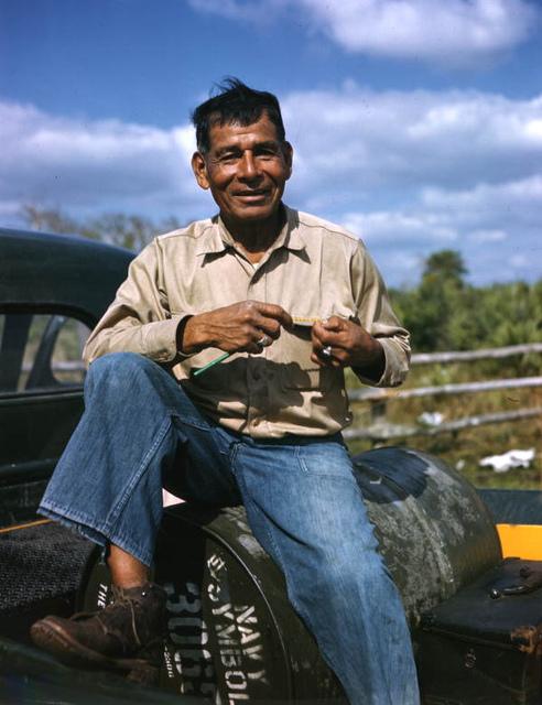 Lonnie Buck: Brighton Reservation, Florida
