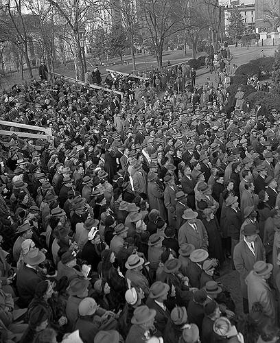 Governor Battle inauguration