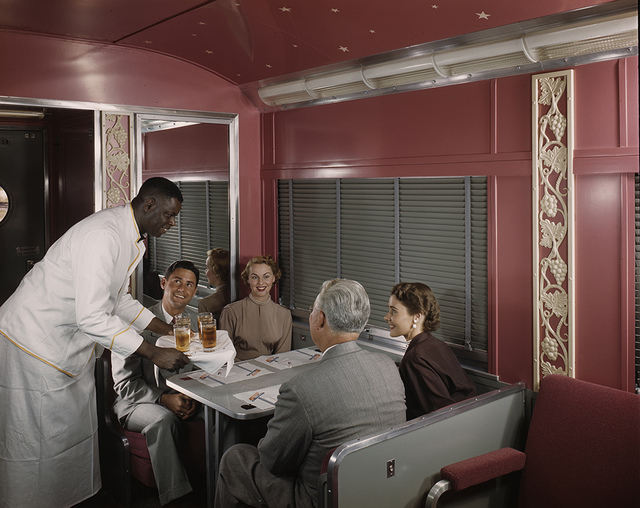 [Southern Pacific Sunset Limited Diner and Lounge, Budd Company]