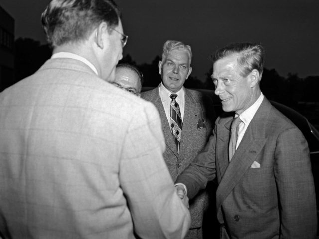 Duke of Windsor Visits the Lewis Flight Propulsion Research Laboratory