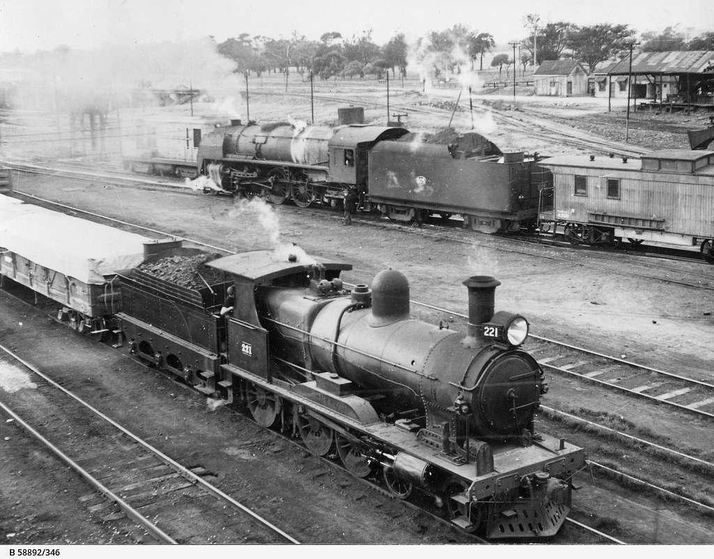 South Australian Railways Rx 221, Mile End, South Australia, 1951