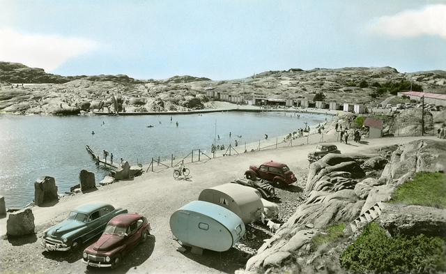 The Pinnevik bathe in Lysekil, Bohuslän, Sweden
