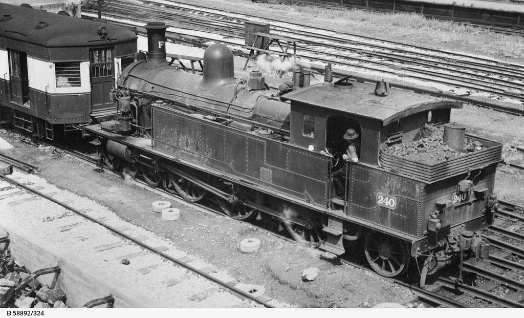 South Australian Railways F240 1952