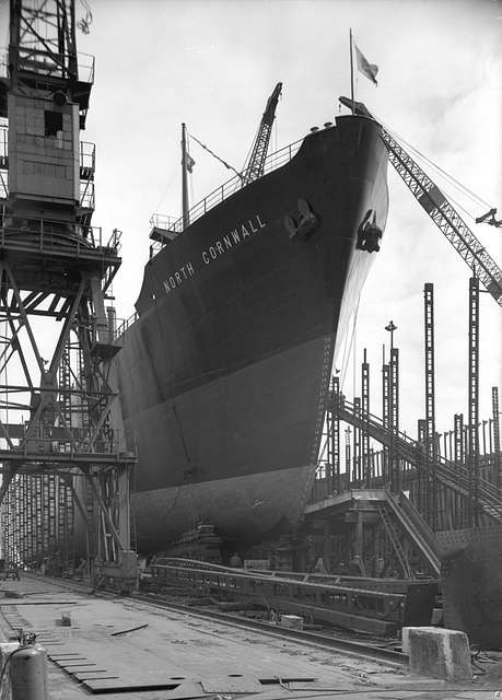 'North Cornwall' ready for launch at Bartrams shipyard