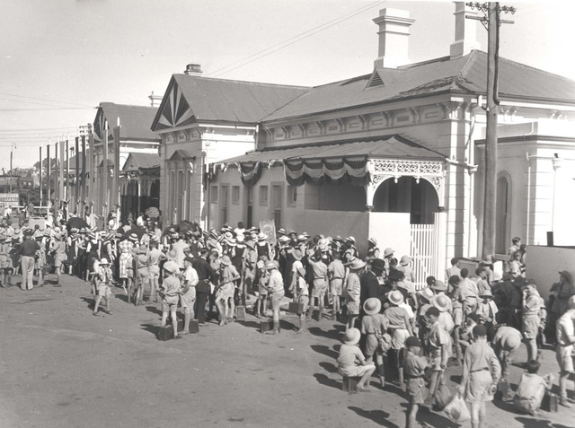 Royal Visit 1954 - Wagga Wagga