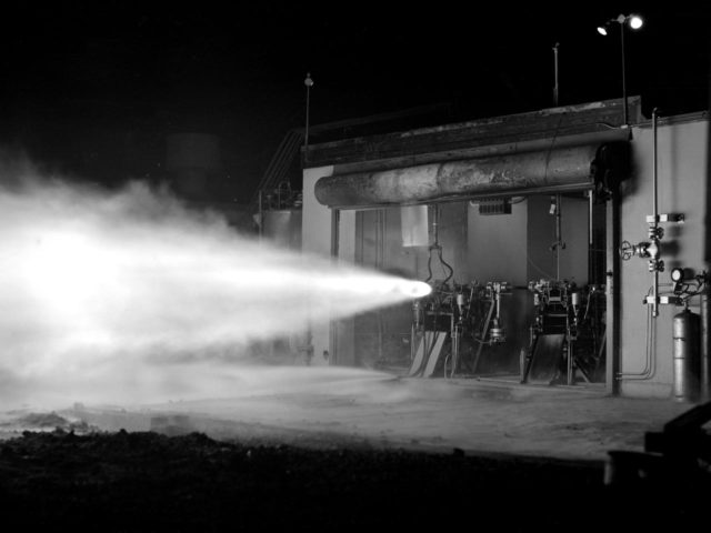 High-Energy Propellant Rocket Firing at the Rocket Lab