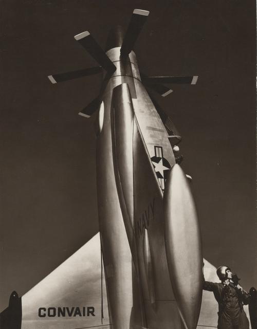 Convair turbo prop
