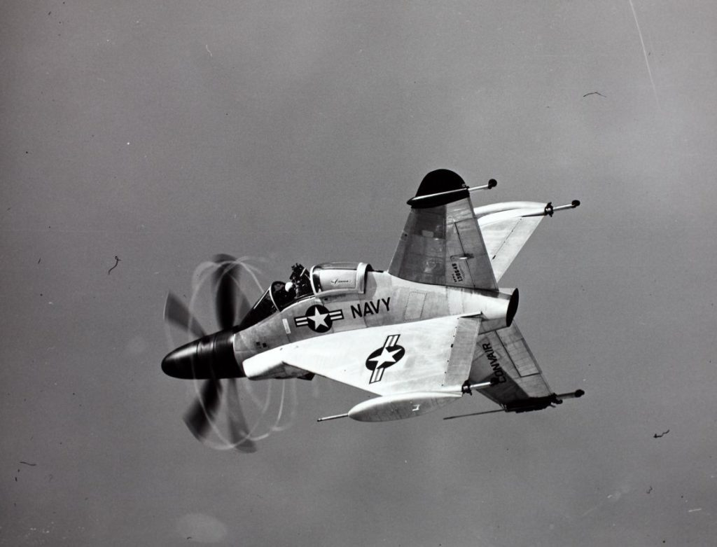 Convair, XFY-1, Pogo