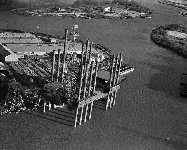 DeLong Barge - Off Shore at Con Weston Dock, Orange, Texas