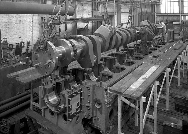 Inside the Southwick Engine Works, Sunderland