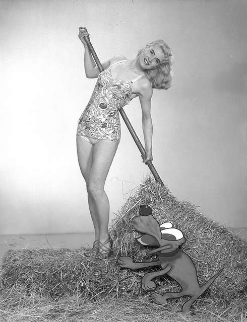 Rita ignored the farmer's advice about work clothes