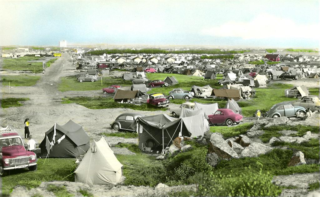 Skrea camping ground, Falkenberg, Halland, Sweden