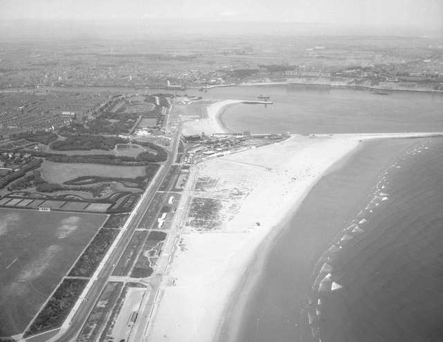 South Shields and the foreshore