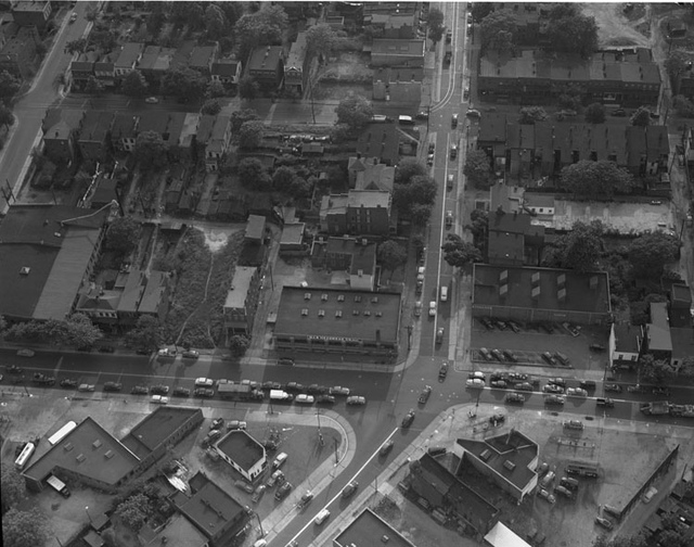 Unidentified aerial view, Richmond