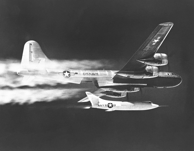 D-558-2 Dropped from B-29 Mothership