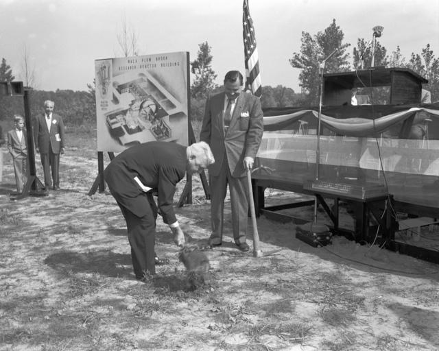 Edward Sharpe at Plum Brook groundbreaking ceremony
