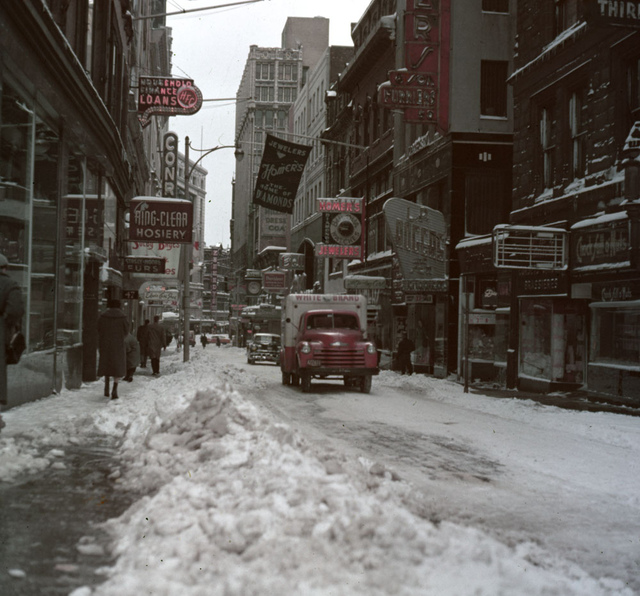 Winter in Boston 1956