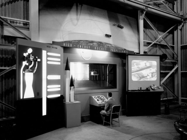 Rocket Propellant Talk at the 1957 NACA Lewis Inspection
