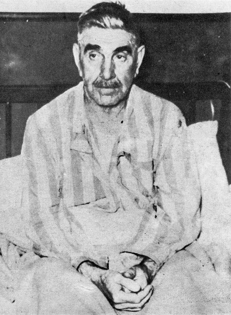 Ante Pavelić in hospital
