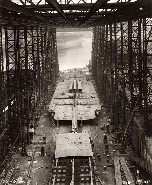 Construction of Northbank's hull continues