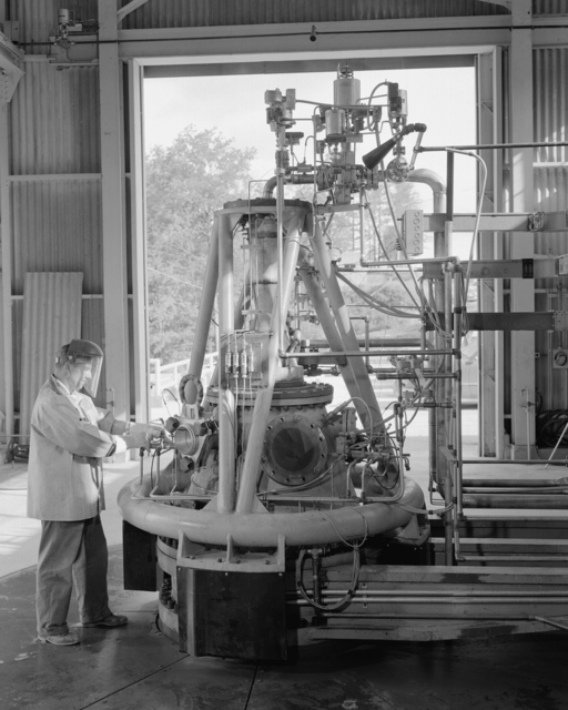 Rocket Test Stand and Engine