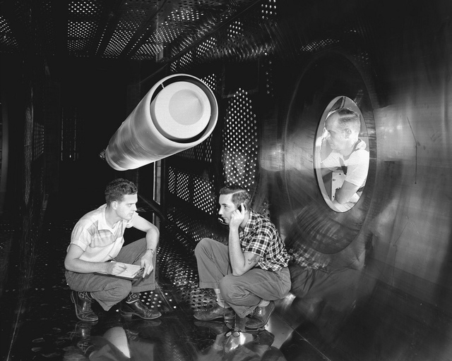 Supersonic Wind Tunnel Test Section