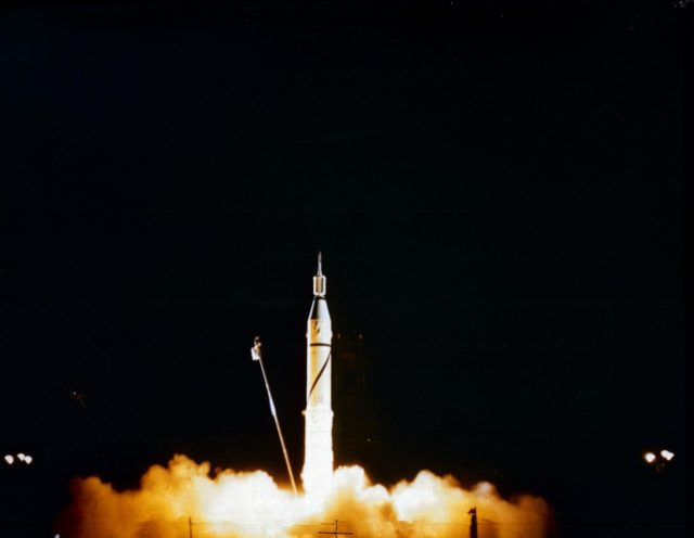 Jupiter-C, the first American Satellite, Explorer 1 launcher