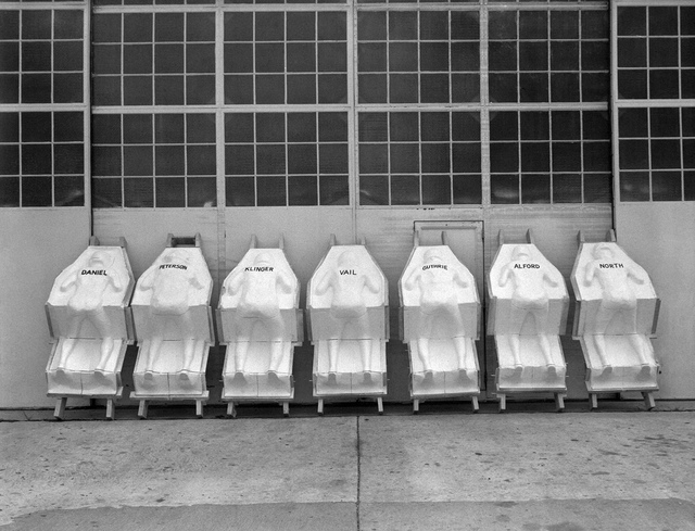 Molded Astronaut Couches