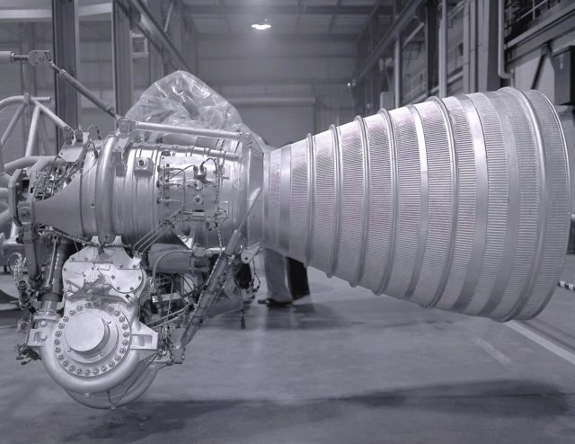 Saturn I - Saturn Apollo Program - Cluster of eight H-1 engines