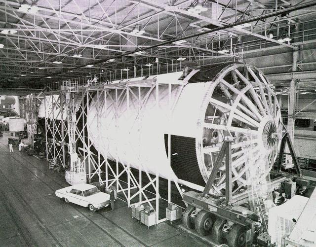 Saturn V first stage - Saturn Apollo Program