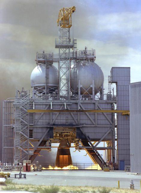 Saturn V F-1 Engine - Saturn Apollo Program