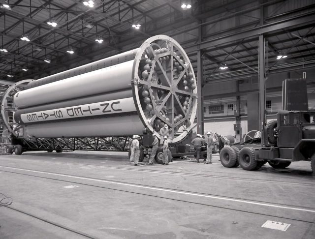 Saturn I Booster - Saturn Apollo Program