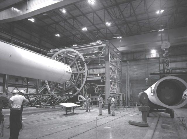 Saturn I liquid oxygen tank - Saturn Apollo Program