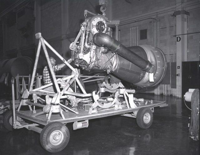 Saturn Apollo Program H-1 engine