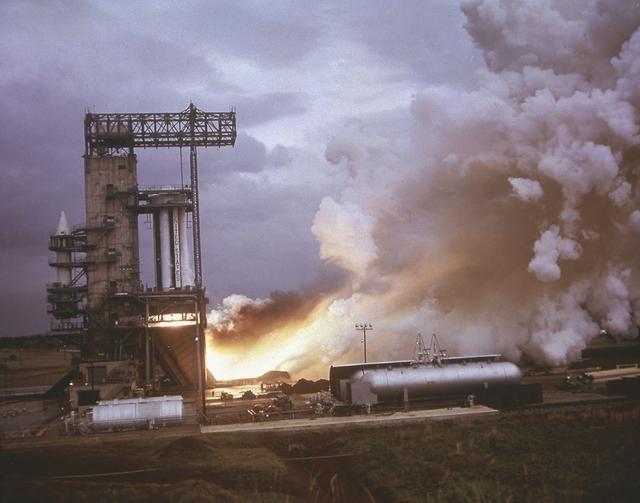Saturn I engine test pad - Saturn Apollo Program