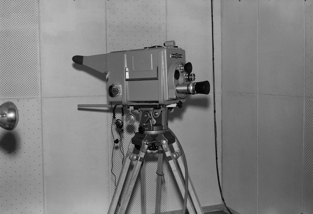 Orthikon television camera, 1957
