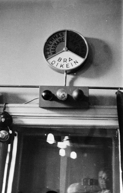 Radio studio control room 1927-1934