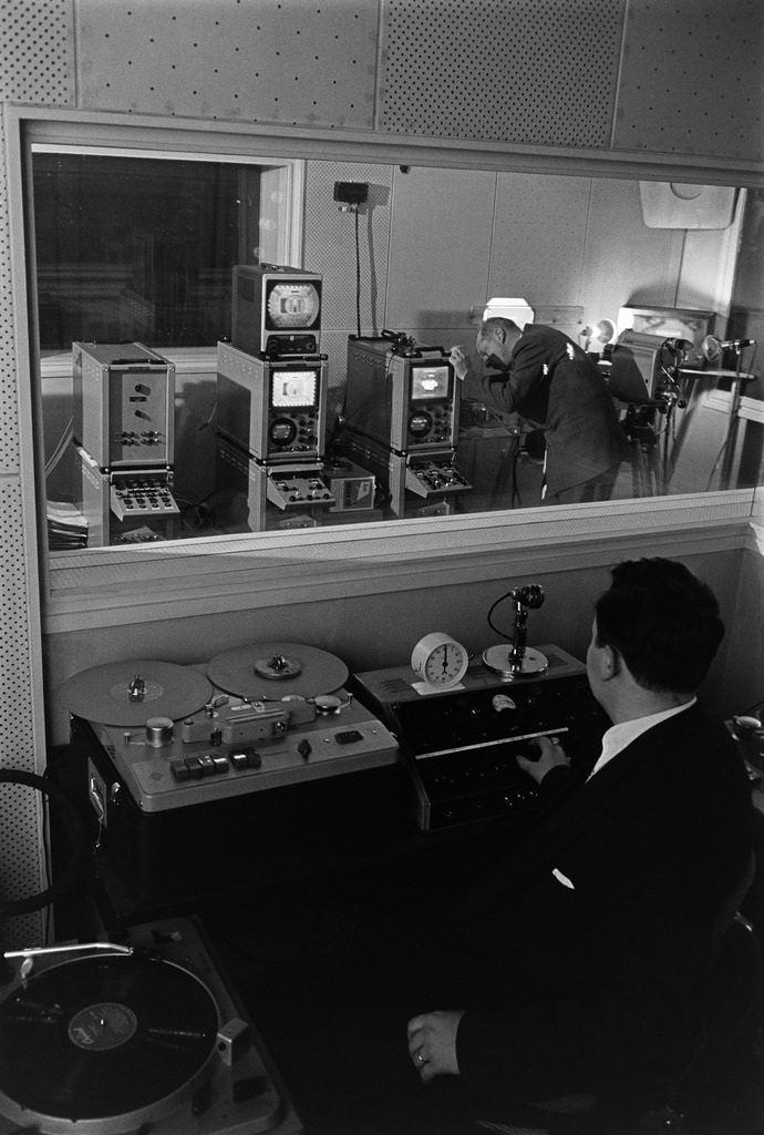 Television test broadcasts in Finland, 1957