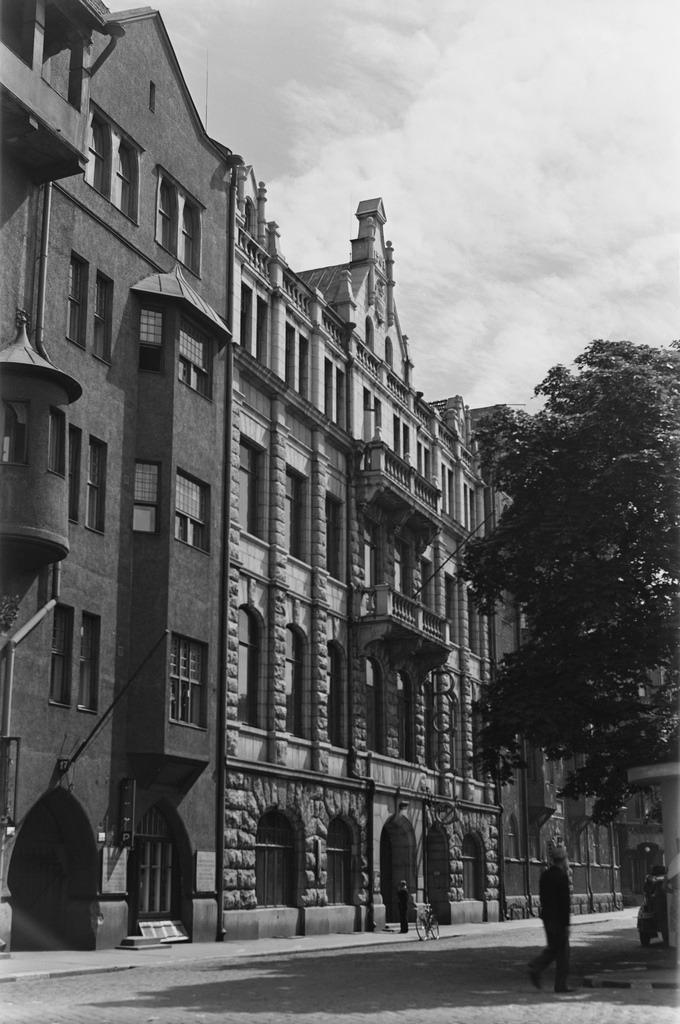 The Radio House of Finnish Broadcasting Company in Helsinki, 1930s.